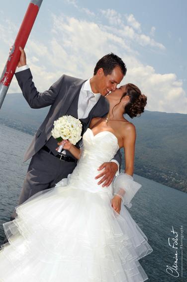 photo de couple mariage Aix les Bains